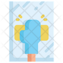 Cleaning Mirror Icon