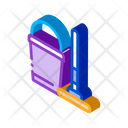Bucket Mop Cleaning Icon