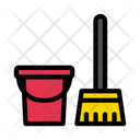 Cleaning Dusting Mop Icon