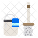 Mop Cleaner Cleaning Icon
