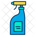 Cleaning Products Liquid Glass Cleaner Icon