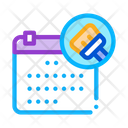 Cleaning Schedule Icon