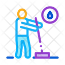 Human Washing Cleaning Icon