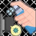 Cleaning Spray Spray Door Icon