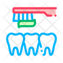 Dentist Teeth Cleaning Icon