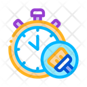 Cleaning Time Icon