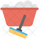 Wiper Water Tub Icon