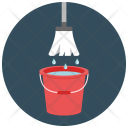 Cleaning Mop Bucket Icon