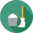 Cleaning Tool Broom Icon