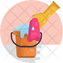 Cleaning Tools Cleaning Bucket Icon