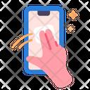 Smartphone Clean Wash Icon