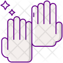 Cleanliness Cleaning Gloves Hand Gloves Icon