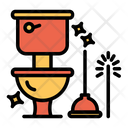 Clean Toilet Icon
