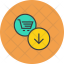Clear Cart Basket Icon