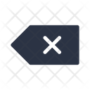 Clear Backspace Delete Icon