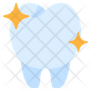 Clear Clean Tooth Icon