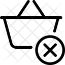 Clear Basket Icon