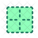 Clear Border Cell Icon