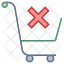 Clear item in cart Icon