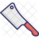 Butcher Knife Cleaver Butcher Equipment Icon