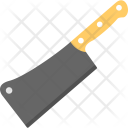 Cleaver Large Knife Icon