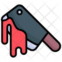 Cleaver Horror Halloween Icon