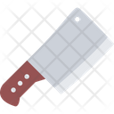 Cleaver Knife Cutting Icon