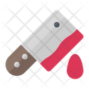 Cleaver Meat Knife Icon