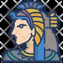 Cleopatra Egyptian Woman Woman Icon