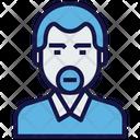 Clerk Man Avatar Icon