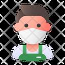 Clerk Avatar Man Icon