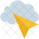 Cloud Computing Click Icon