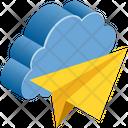 Cloud Computing Click Icon