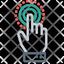 Click Coin Hand Icon