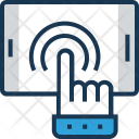 Click Hand Gesture Icon