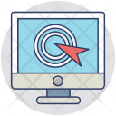 Click Cursor Computer Icon