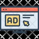 Click Ad Click Ad Icon