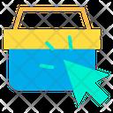 Click Basket Icon