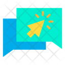 Click Chatting Icon