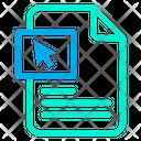 Click Document Icon
