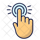 Click Hand Click Touchscreen Icon
