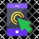 Click Click Mobile Mobile Icon