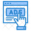 Click On Ads Icon