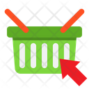 Click On Basket Select Product Shopping Basket Icon