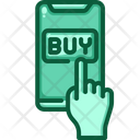 Click On Buy Mobile Buy Online Shopping Icon