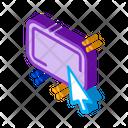 Click Optimization Inbound Icon