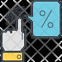 Click Through Rate Icon