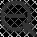 Minus Remove Subtract Icon