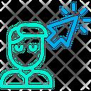 Click User Icon