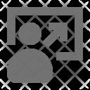 Client Arrow Customer Icon